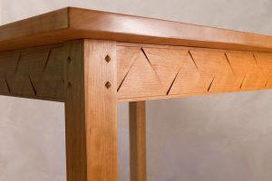 Kitchen Table, Cherry  (detail)