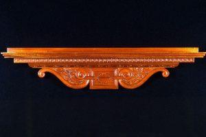 Renaissance Shelf, Mahogany