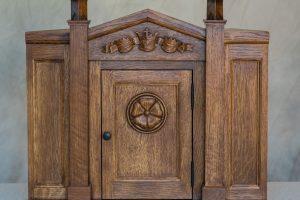 Quartersawn White Oak tabernacle
